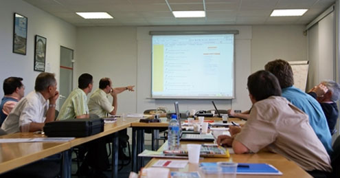 We offer a variety of instructor-led courses